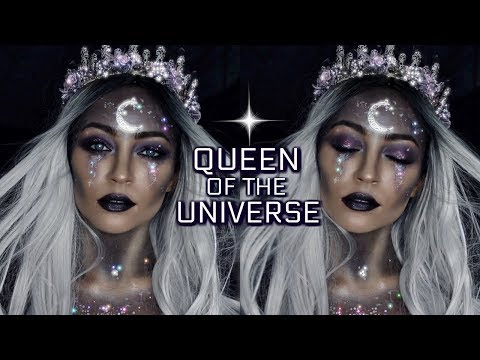 QUEEN OF THE UNIVERSE: HALLOWEEN MAKEUP LOOK | Stephanie Ledda
