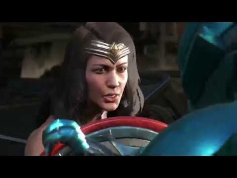Injustice 2 Wonder Woman and Blue Beetle Trailer