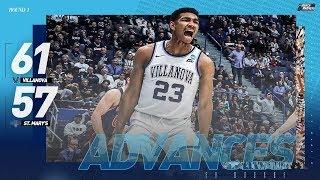 Villanova vs. Saint Mary's: First Round NCAA Tournament Extended Highlights