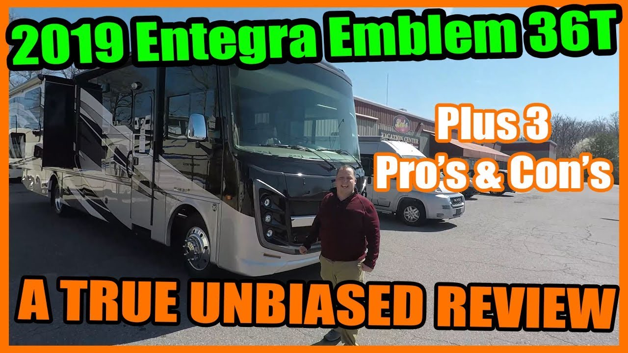 2019 Entegra Coach Emblem 36T - Class A with Bunk Beds