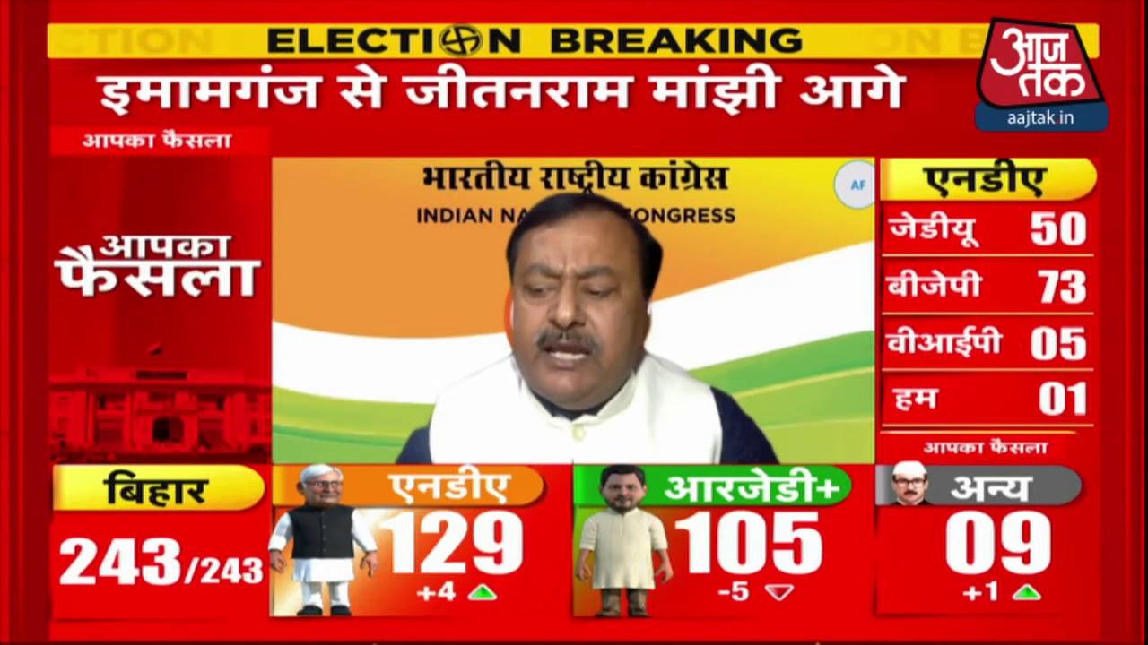 Bihar Election Result: Congress नेता Surendra बोले- 'चुनाव आएंगे, जाएंगे, हार जीत तो ही रहती है