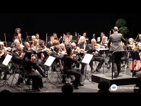 VÍDEO: La Orquesta de Córdoba vuelve a Lucena con un concierto de bandas sonoras de grandes películas