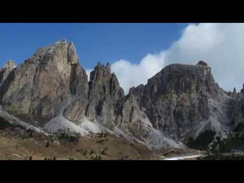 Val Gardena, South Tyrol Italy, Mountain Views Shot With DJI Inspire2 Drone