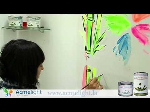 Pintura Acmelight para paredes