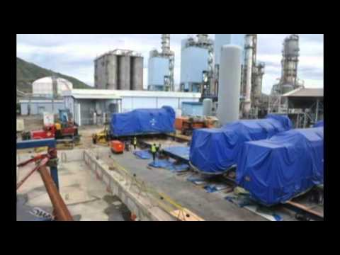 Batangas, Philippines: Heavylift Operations, Heavylift Vessel, Trucking, LCT, and Spotting
