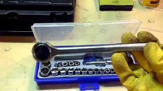 """40 Piece 3/8"""" And 1/4"""" Drive Socket Set 02 Update"""