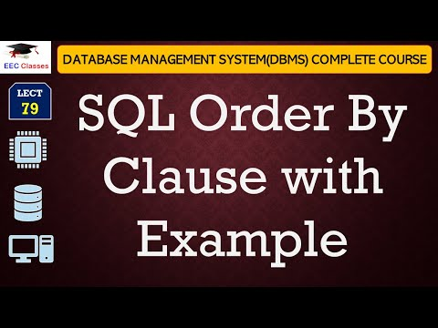 SQL Order By Clause in Hindi, English on Oracle 11g Database with Example