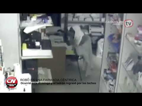 Robo en una farmacia céntrica