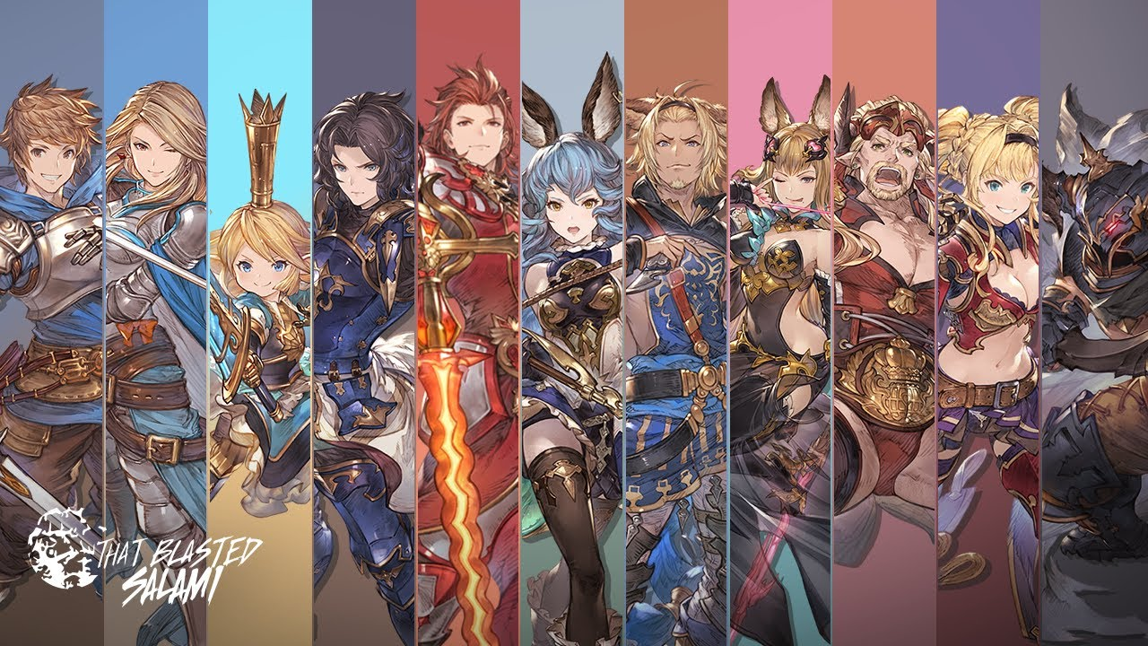 Granblue Fantasy Versus - Character Overviews - YouTube