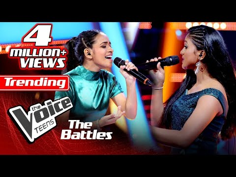 the-battles-:-adithya-weliwatta-v-praveena-thathsarani-|-me-koi-yanne-|-the-voice-teen-sri-lanka