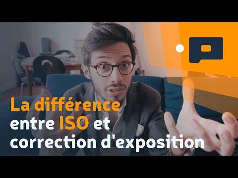 📷 La différence entre ISO et correction d'exposition