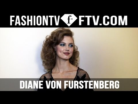 Diane Von Furstenberg Spring 2016 Hairstyle New York Fashion Week   FTV.com