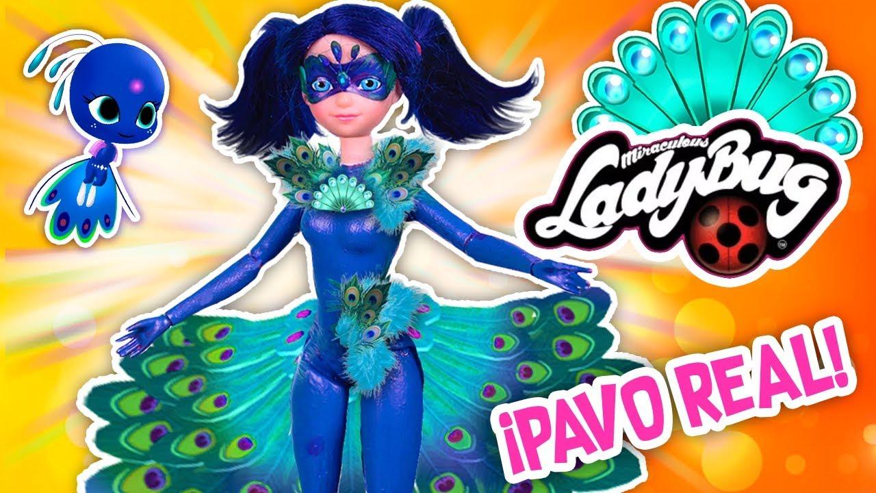 Ladybug Descubre El Miraculous Del Pavo Real En Casa De Adrien