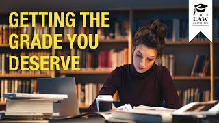 How To Get The Grade You Deserve