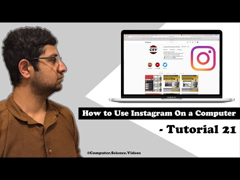 How to Use Instagram on a Computer (GRIDS Application) - Archive Your Photo / Video | Tutorial 21