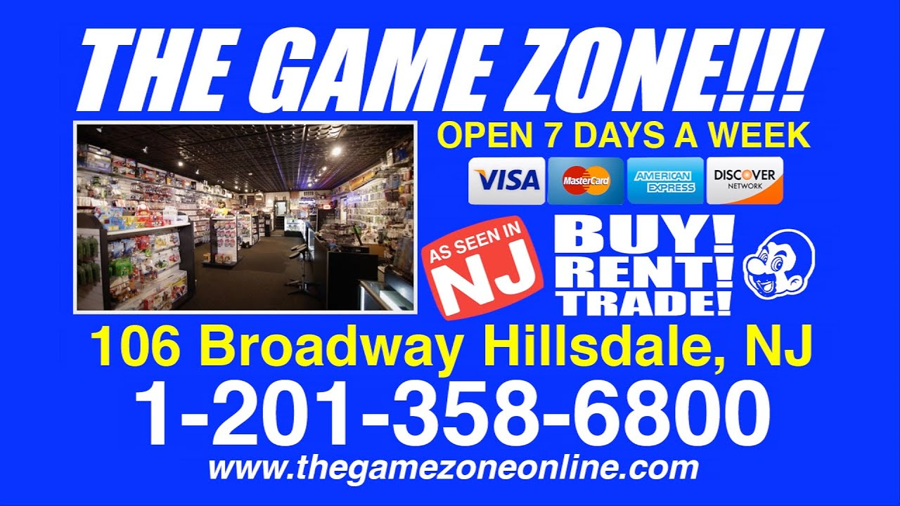 the game zone informational commercial the game zone informational commercial