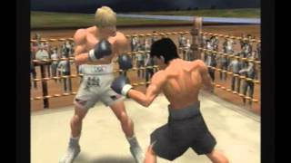 Hajime No Ippo (PS2) - Victorious Boxers 2 - Fighting Spirit - Ginpachi Nekota vs Ralph Anderson
