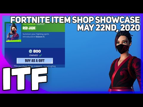 Fortnite Item Shop RED JADE IS BACK! [May 22nd, 2020] (Fortnite Battle Royale)