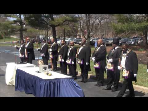 Prince Hall Grand Lodge of Pennsylvania Cornerstone Dedication  Ceremony.