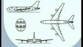 Airbus A380-800 Concept Development (morphing)