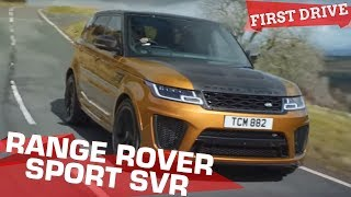 Range Rover Sport SVR - The Baap of Brraap! | First Drive Review| ZigWheels.com