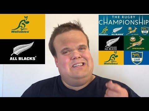 Australia vs New Zealand   Rugby Championship 2018 Round 1