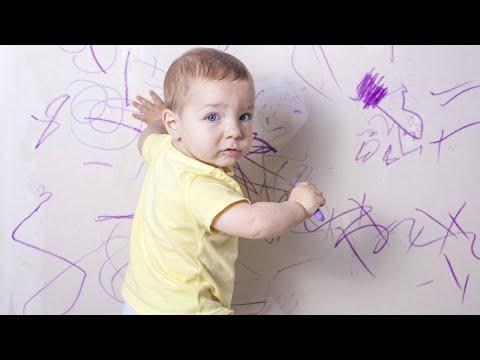 How Can I Get Nail Polish and Crayon Marks Off My Walls?