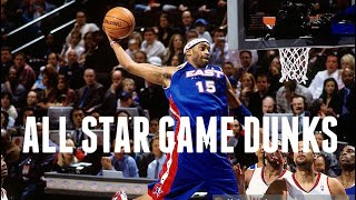Vince Carter's Best All Star Game Dunks
