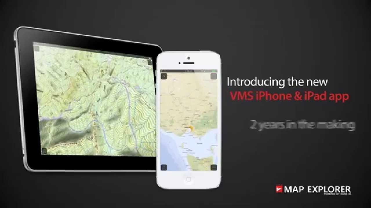 VMS Map Explorer 3D 4WD OfflineOffroad Navigation App YouTube – Road Navigation Map