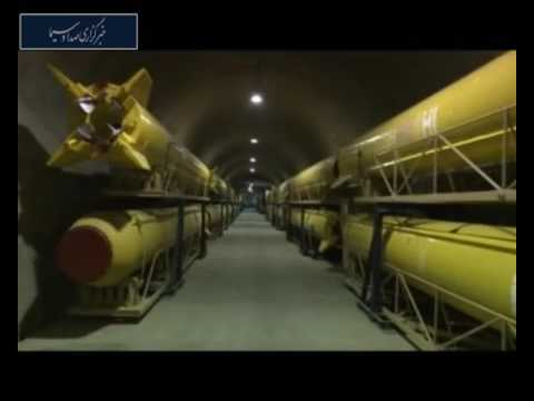 Inside an Iranian missile city, launching a Qiam missile from a silo, deep inside the earth
