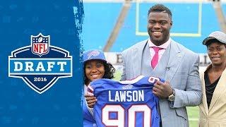 Shaq Lawson's Draft Week Behind the Scenes | 2016 Draft Diary | NFL