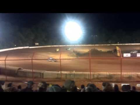 Southern vintage cars at Flomaton Speedway