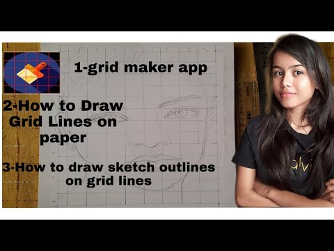 GRID METHOD OF DRAWING |How To Draw From Photo Using Grid Method |tutorial By Beginners Archives