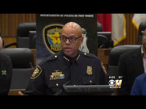 Fort Worth Police Chief says 'I Was Disappointed With The Video'
