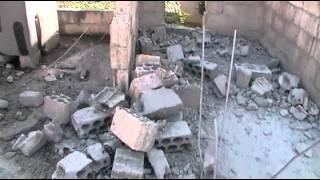 درعا خربة غزالة آثار الدمار 10-10-2012