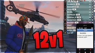 Level 8 JUMPED 12v1 by Angry Players (GTA 5 Online)