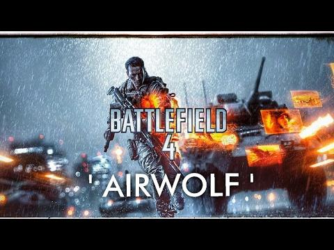 BATTLEFIELD 4 -  'Airwolf' Chopper Skills!