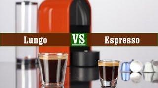 Nespresso Lungo and Espresso - quick and easy Recipe