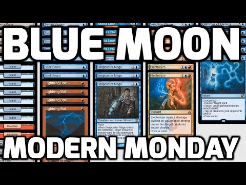 Modern Monday: Blue Moon (Match 4)