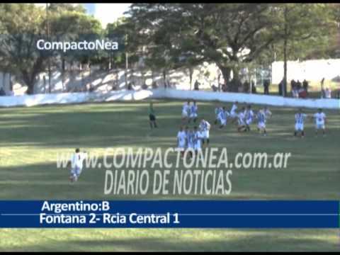 Argentino B La alegría fue para Fontana