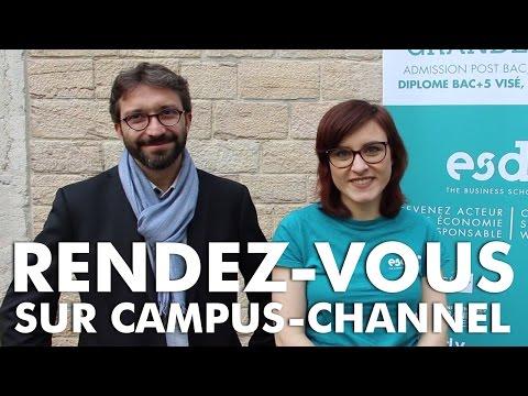 Rendez-vous sur Campus-Channel - 1er Juin à 18h