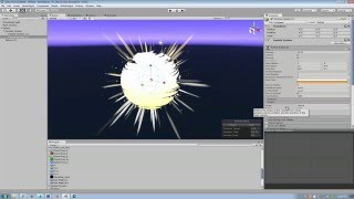 Unity Particle System - Making a sun