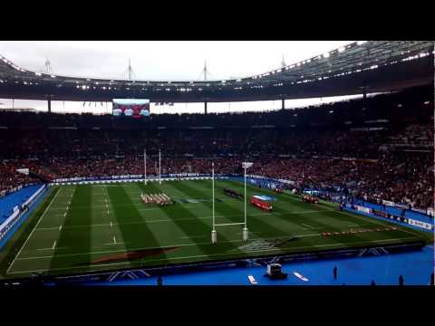 France vs Wales - 6 Nations 18/3/2017 - Anthems