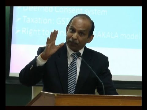 """Anil Gupta, IIA @ """"Ease of Doing Business in UP"""" Workshop by CPPR & CUPS"""