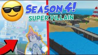 Mad City Season 4 Roblox Super Villain Villain Lair New Map Hero Powers New Codes