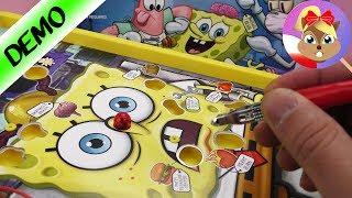 Alternatywa gry Operacja ze SpongeBobem! test na żywo