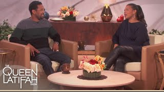 Mike Epps Reveals Why Oprah Was At His Audition | The Queen Latifah Show