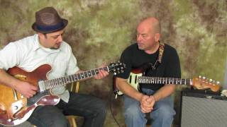 Country Guitar Lessons - Banjo Roll Style Lick