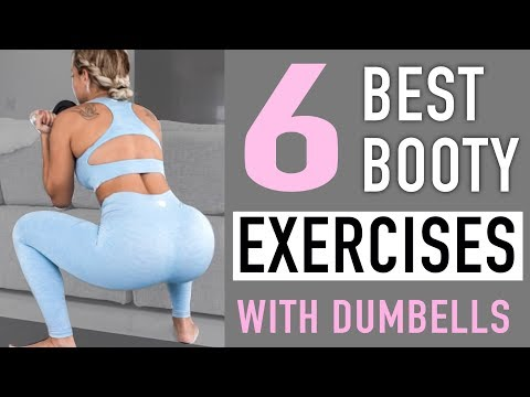 Grow & Define your BOOTY | 6 Best Butt Exercises for Women