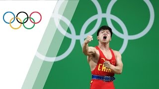 China's Long breaks world record and wins gold in Men's 56Kg Weightlifting